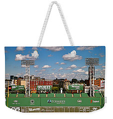 Weekender Tote Bag featuring the photograph The Classic II Fenway Park Collection  by Iconic Images Art Gallery David Pucciarelli