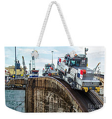 The Climbing Mule Of The Panama Canal Weekender Tote Bag