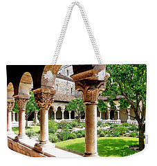 The Cloisters Weekender Tote Bag by Sarah Loft