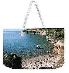 Weekender Tote Bag featuring the photograph The Coast To Oren  by Tracey Harrington-Simpson