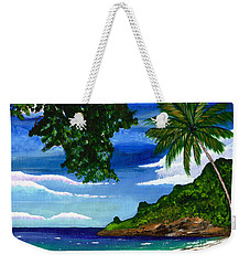 The Coconut Tree Weekender Tote Bag