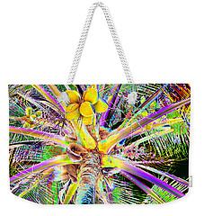 The Coconut Tree Weekender Tote Bag