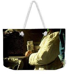 The Coffee Drinker Weekender Tote Bag