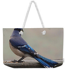 The Cold Shoulder Weekender Tote Bag