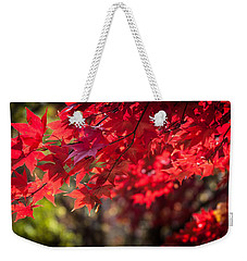 The Color Of Fall Weekender Tote Bag by Patrice Zinck