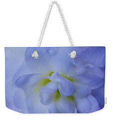 The Color Of Rain Weekender Tote Bag