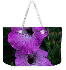 The Color Purple   Weekender Tote Bag by James C Thomas