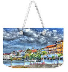 The Colors Of Casco Viejo Weekender Tote Bag by Bob Hislop