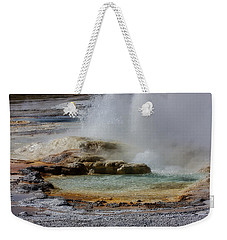 The Colors Of Clepsydra Weekender Tote Bag