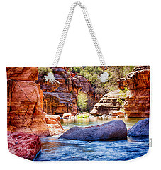 The Colors Of Oak Creek Weekender Tote Bag