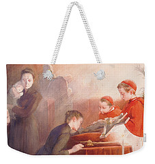 The Confirmation Weekender Tote Bag