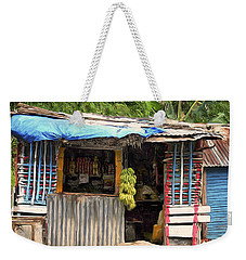 The Corner Market Weekender Tote Bag