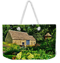 The Cotswald Barn And Dovecove Weekender Tote Bag by Daniel Thompson