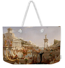 The Course Of Empire Consummation  Weekender Tote Bag