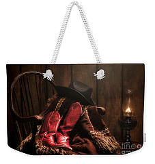 The Cowgirl Rest Weekender Tote Bag