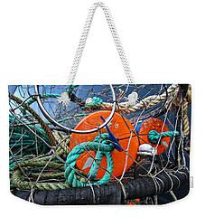 Crab Ring Weekender Tote Bag