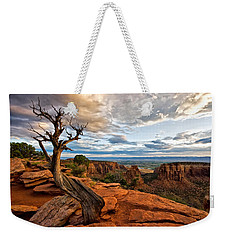The Crooked Old Tree Weekender Tote Bag by Ronda Kimbrow