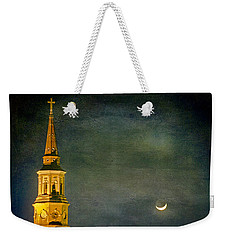 The Cross And The Crescent Weekender Tote Bag
