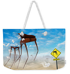 The Crossing 2 Weekender Tote Bag by Mike McGlothlen
