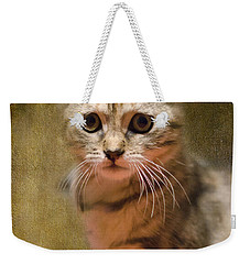 The Cutest Kitty Weekender Tote Bag by Klara Acel