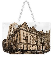 The Dakota Vintage Look Weekender Tote Bag by RicardMN Photography
