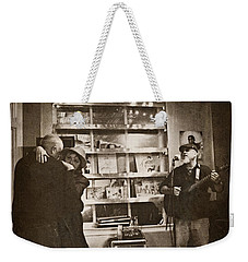 Weekender Tote Bag featuring the photograph The Dance by Jessica Brawley