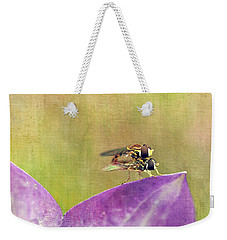 The Dance Of The Hoverfly Weekender Tote Bag