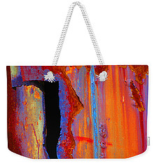 Weekender Tote Bag featuring the photograph The Darkside by Christiane Hellner-OBrien