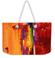 Weekender Tote Bag featuring the photograph The Darkside II by Christiane Hellner-OBrien