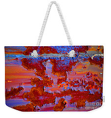 Weekender Tote Bag featuring the photograph The Darkside #3 by Christiane Hellner-OBrien
