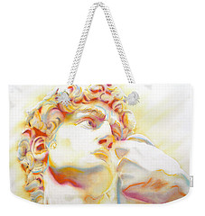 The David By Michelangelo. Tribute Weekender Tote Bag