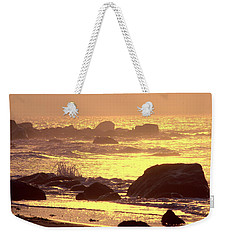 Weekender Tote Bag featuring the photograph The Dawn Is Breaking  by Cindy Greenstein