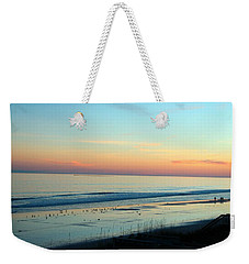 The Day Ends Weekender Tote Bag