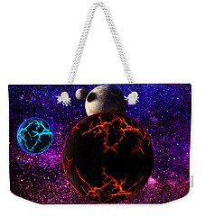 The Dead Solar System  Weekender Tote Bag by Naomi Burgess