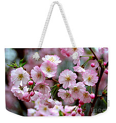 The Delicate Cherry Blossoms Weekender Tote Bag