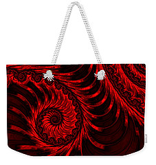 The Descent Weekender Tote Bag by Susan Maxwell Schmidt