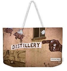 The Distillery Weekender Tote Bag by Janice Rae Pariza