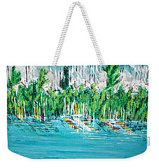 The Docks Weekender Tote Bag