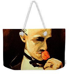 The Don And The Rose Weekender Tote Bag by Dale Loos Jr
