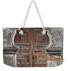 The Door Of Espada Mission  Weekender Tote Bag