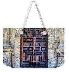 Weekender Tote Bag featuring the photograph The Alamo by Robert Bellomy