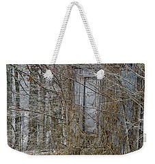 The Door To The Past Weekender Tote Bag by Wilma  Birdwell