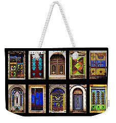 The Doors Of Yemen Weekender Tote Bag