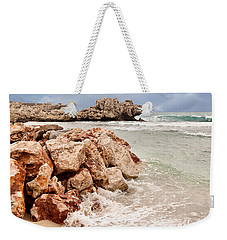 Weekender Tote Bag featuring the photograph The Dragon Of Labadee by Mitchell R Grosky