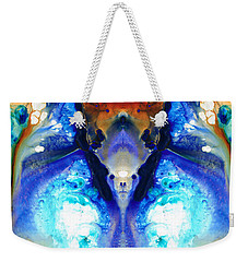 The Dragon - Visionary Art By Sharon Cummings Weekender Tote Bag by Sharon Cummings