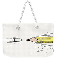 The Draw Weekender Tote Bag
