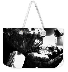 The Drink Weekender Tote Bag by Leticia Latocki
