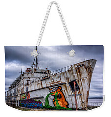 Weekender Tote Bag featuring the photograph The Duke Of Lancaster by Adrian Evans