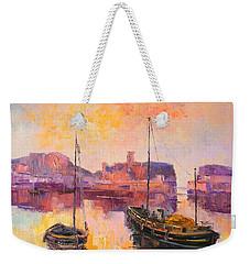 The Dunbar Harbour Weekender Tote Bag