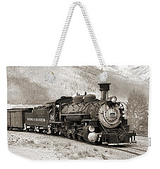 The Durango And Silverton Weekender Tote Bag